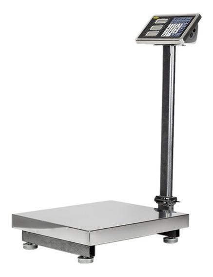 Bascula Digital Industrial Plataforma 150 Kg Acero Ino Noval