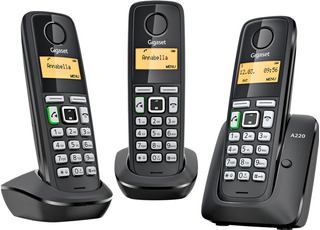 Teléfonos Inalámbricos Gigaset A220 Trio Nuevo De Linea