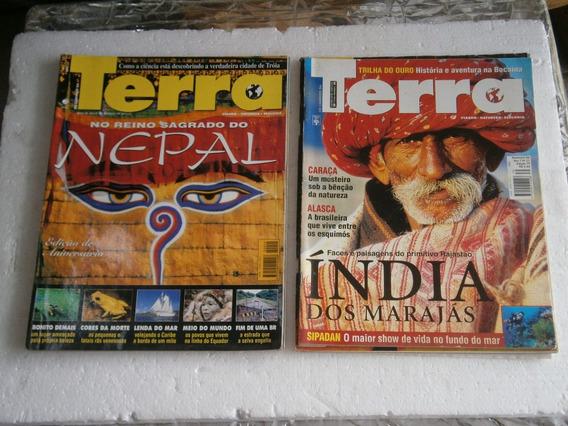 20 Revistas - Os Caminhos Da Terra Por R$ 40,00