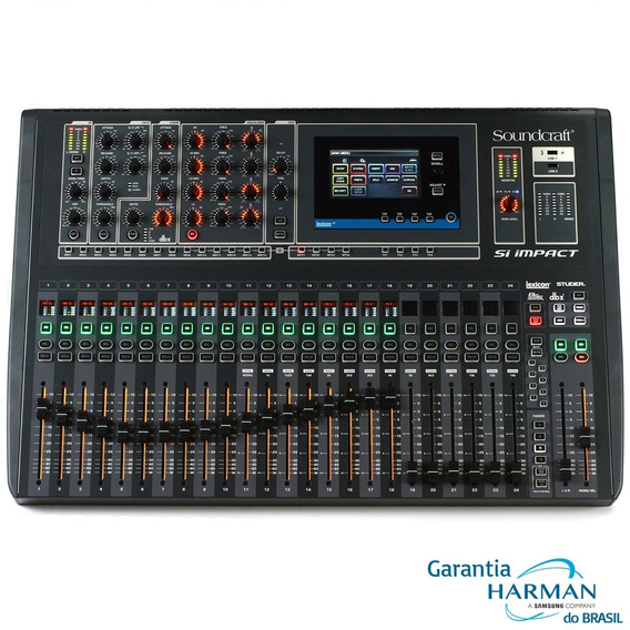 Mesa Digital Soundcraft Impact Nf E Garantia Harman