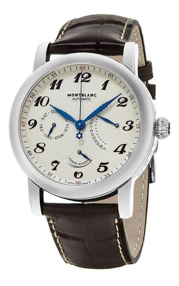 Relógio Montblanc 106462 Star Automatico Original Couro