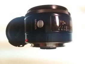 Lente Minolta 28mm Compatível Sony Alpha