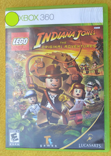 Lego Indiana Jones Xbox 360 Play Magic