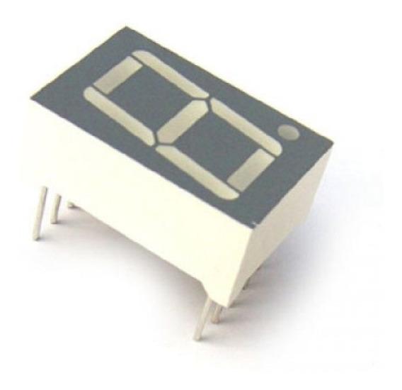 Display De 7 Segmentos 0,56 Catodo Comum - Kit 10 Unidades