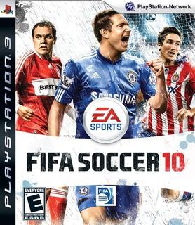 Jogo Fifa Soccer 2010 Playstation 3 Ps3 Futebol Frete Grátis