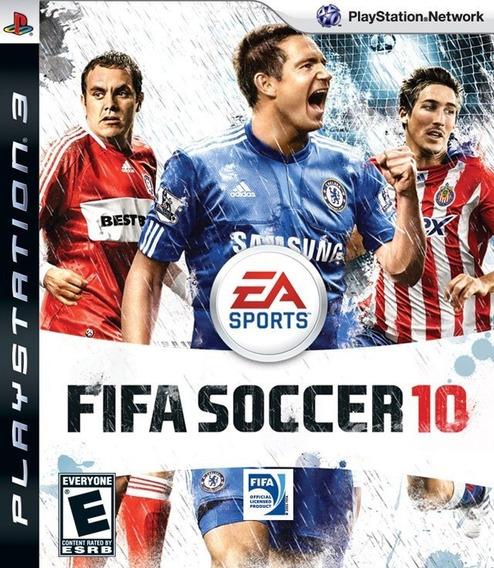 Jogo Fifa Soccer 2010 Playstation 3 Ps3 Futebol Mídia Física