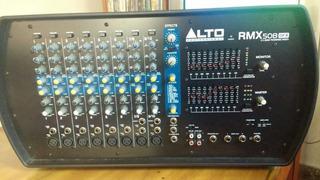 Alto Rmx508dfx Consola Potenciada 8 Canales 150/230w