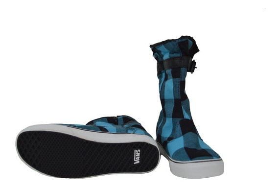 Bota Vans Para Lluvia Azul/negro Original Vn 0ins3sn