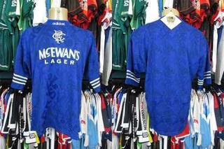 Glasgow Rangers 1994 Camisa Titular Tamanho G.
