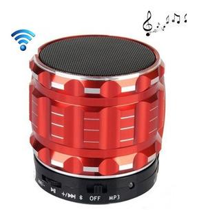 Parlante Portatil Bluetooth Aux Mp3 Radio Fm Tf Microfono