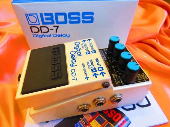 Boss Digital Delay Dd7 Tap Tempo ... Tc Electronic Flashback
