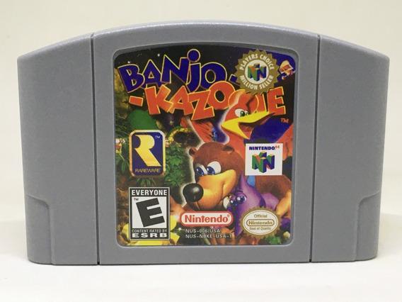 Banjo Kazooie Nintendo 64 N64 Novo + Garantia