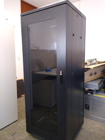 Rack Servidor Fechado 32u X 600mm Porta 2 Lado Kit Ventoinha