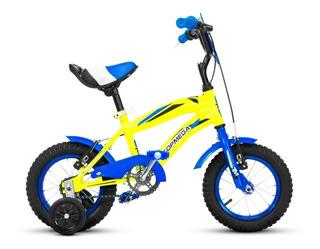 Bicicleta Top Mega Varon Rodado 12 Junior Bmx Nene Rueditas