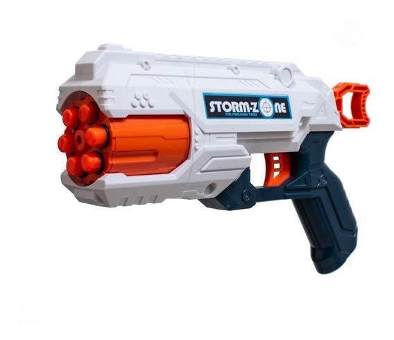 Pistola Lanza Dardos Blandos De Juguete Nene +18 Dardos 8101