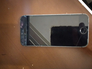iPhone 5s Totalmente Fuçado No Estado Em Que Se Encontra