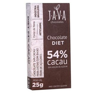 Chocolate Diet 54% Cacau - 25g - Java