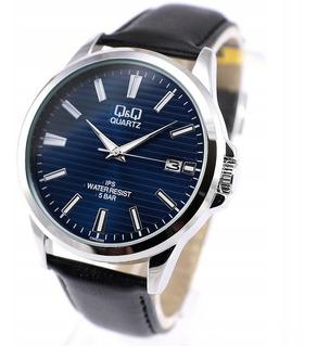 Reloj Q&q Ca08j302y By Citizen Fechador Malla De Cuero