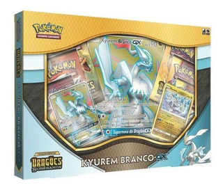 Pokémon Box Kyuren Branco Dragões Soberanos Copag - 98812