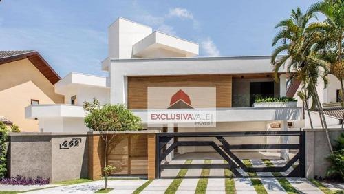 Casa Com 5 Dormitórios À Venda, 510 M² Por R$ 4.500.000,00 - Jardim Das Colinas - São José Dos Campos/sp - Ca0841
