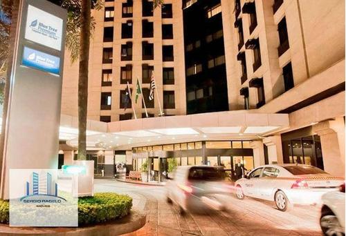 Imagem 1 de 11 de Apartamento Com 1 Dormitório Para Alugar, 44 M² Por R$ 1.800/mês - Campo Belo - São Paulo/sp - Ap3751
