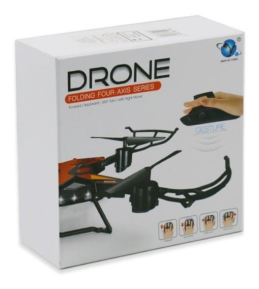 Mini Drone Com Led Controle Remoto Por Gestos