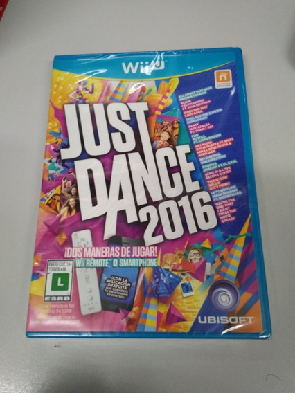 Just Dance 2016 Wii U - Lacrado