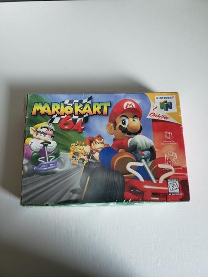 Mario Kart 64 Nintendo 64 Na Caixa Com Plástico Original
