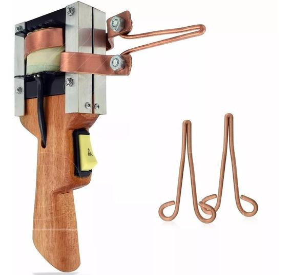 Ferro Solda Pistola Estanhador Profissional 550w 110v