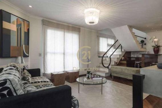 Cobertura Com 3 Dormitórios À Venda, 293 M² Por R$ 2.480.000,00 - Moema Pássaros - São Paulo/sp - Co0448