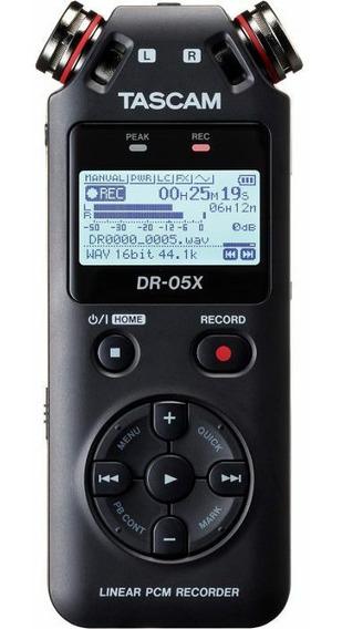 Gravador Tascam Dr-05x Grátis Deadcat Protetor Vento + 16gb