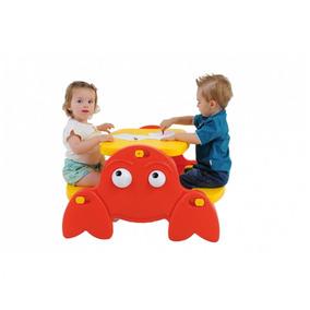 Mesa Infantil Sirizinho Xalingo Brinquedos Amarelo Ij