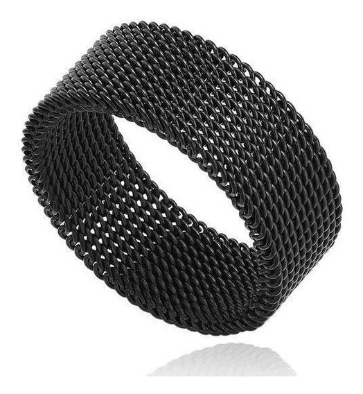 Anel Masculino Aço Titânio Flexível - Super Resistente