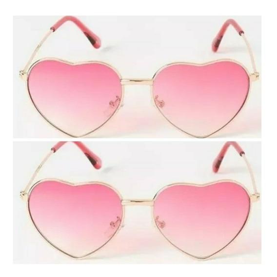 Óculos Moda Praia Infantil Menina Proteção Uv400 Pink Barato