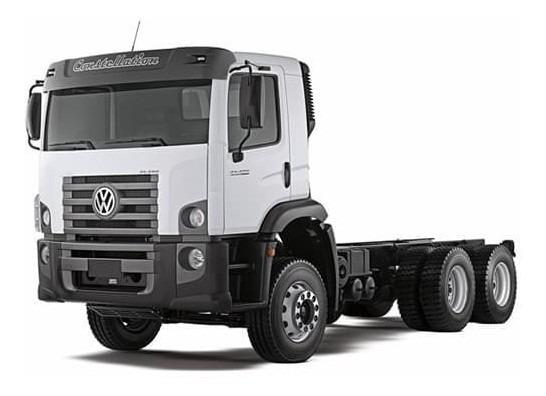Volks 31.390 - 6x4 - 2016 - Com Plataforma - Baixo Km