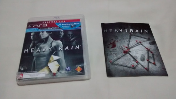 Heavy Rain Original Em Portugues Ps3 Midia Fisica