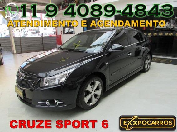 Gm Cruze Sport6 Lt 1.8 Flex Automático Ano 2013 - Bonito