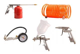 Kit De Aire Accesorios Para Compresor 5 Piezas