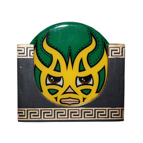 Set De Portavasos Luchadores Mexicanos Neografika