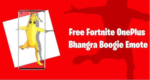 Fortnite Emote Bhangra Boogie Exclusivo Oneplus- Pc Ps4 Xbox