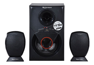 Home Theater Stromberg Carlson 2.1 Htg 077 Usb Y Sd Mp3