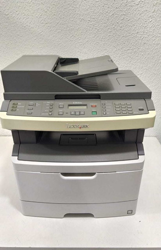 Impressora Laser Multifuncional Lexmark X364dn Ler Descrição