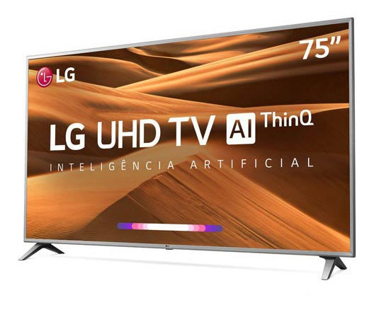 Smart Tv 4k Lg Led 75 Wi-fi - 75um7510psb