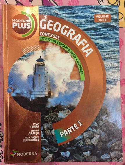 Livro De Geografia Volume Único- Moderna Plus