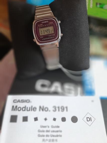 Relógio Casio Original. Modelo 3191 La670m