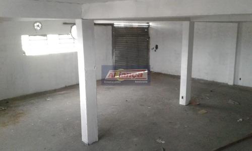 Galpão Para Alugar, 350 M² Por R$ 3.800/mês - Jardim Alvorada - Guarulhos/sp - Ai11986