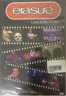 Dvd Erasure - Live Rock Story Original Lacrado