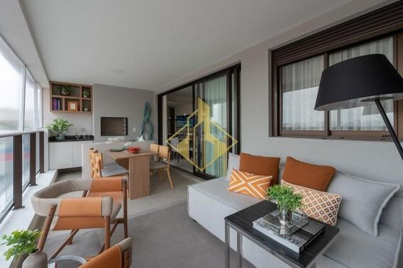 Apartamento Novo - 3 Dorm. À Venda, 147 M² - Campo Belo - São Paulo/sp - Ap0802