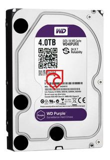 Disco Rigido 4tb Purple Western Digital Seguridad Martinez