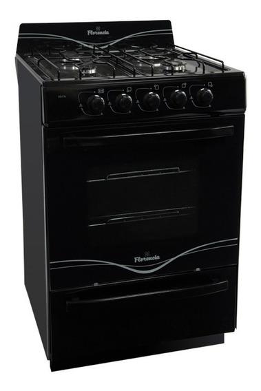 Cocina Florencia Black 5517 Autolimpiante Multigas 56cm